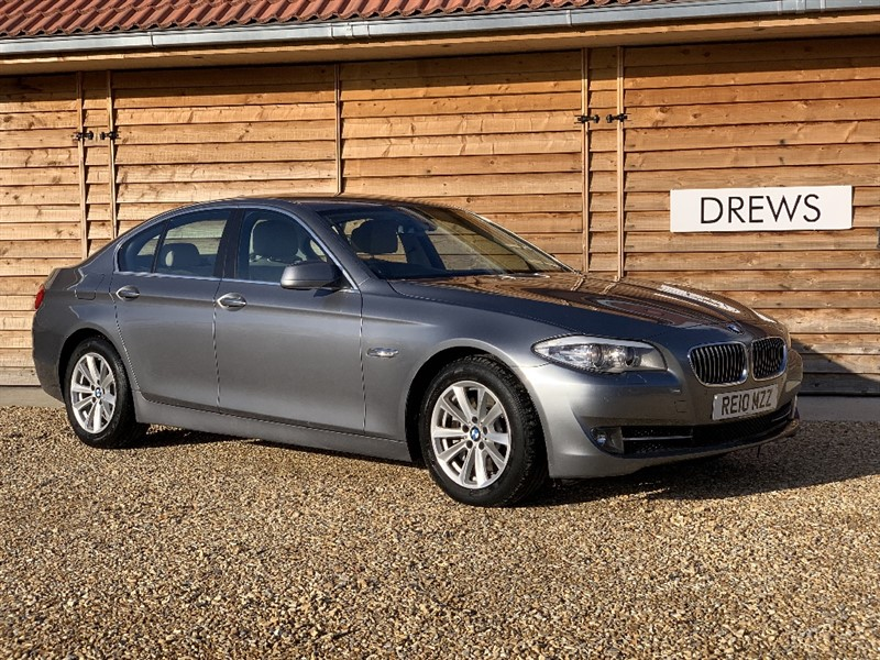 Used BMW 530d SE Auto Big Screen Sav Leather Just Serviced 2 New Tyres New MOT in Berkshire