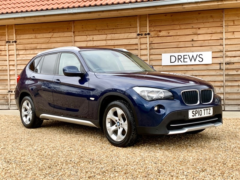 Used BMW X1 2.0 d XDRIVE20D SE Automatic Leather Trim Front Parking Sensors in Berkshire