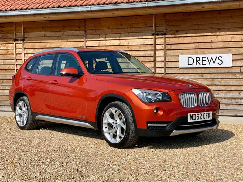 Used BMW X1 SDRIVE20D XLINE Leather Trim Just Serviced new MOT in Berkshire