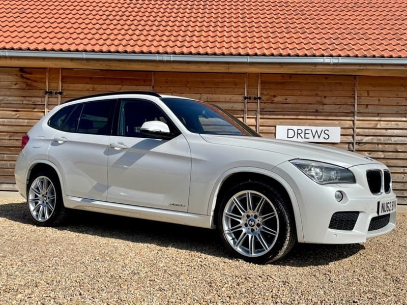 Used BMW X1 XDRIVE18D M SPORT LeatherTrim Just Serviced 4 New Tyres New MOT in Berkshire