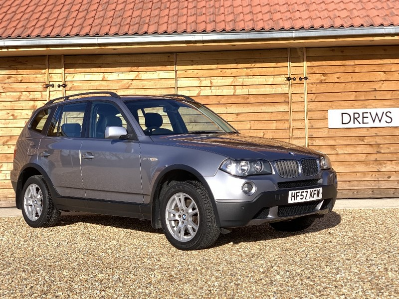 Used BMW X3 D SE Black Leather Seats Just Serviced and New MOT in Berkshire