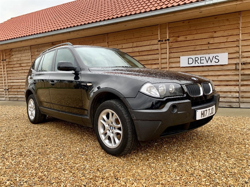 Used BMW X3 D Just Serviced and New MOT Private Plate Included in Berkshire