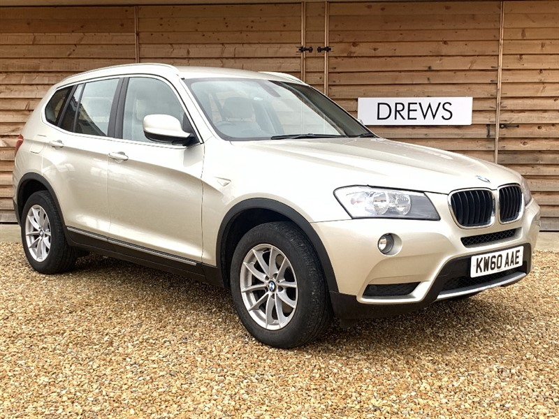 Used BMW X3 XDRIVE20D SE Auto Head Up Display Sat Nav Reversing Camera Bluetooth Leather Trim +++ in Berkshire