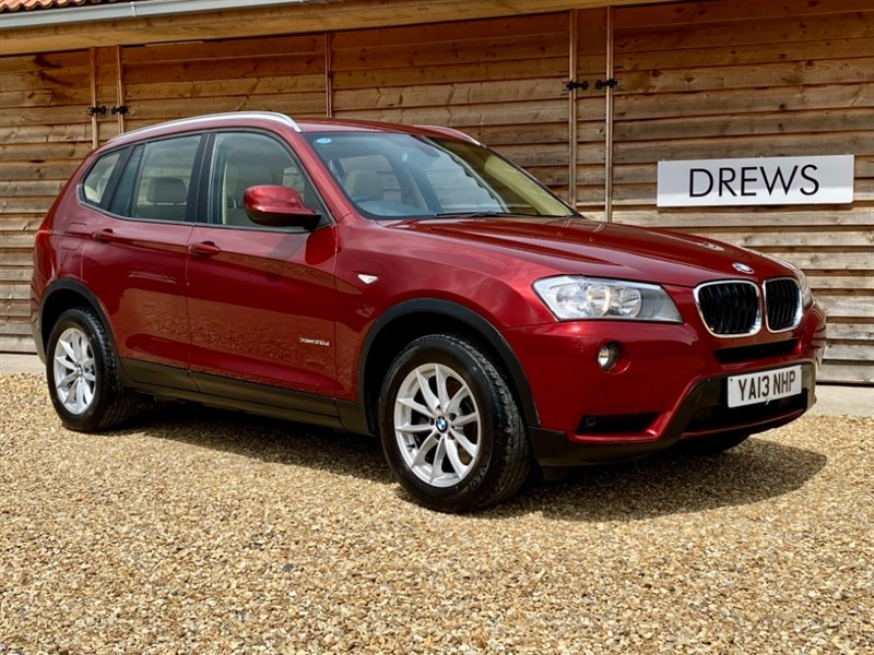 Used BMW X3 XDRIVE20D SE Auto Sat Nav Pano Roof Leather FSH in Berkshire