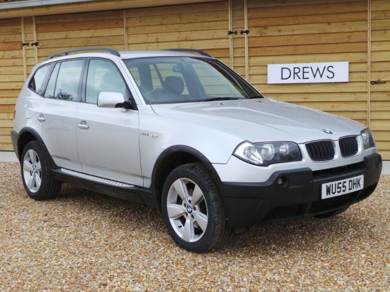 Used BMW X3 D SPORT Just Serviced Black Leather  in Berkshire