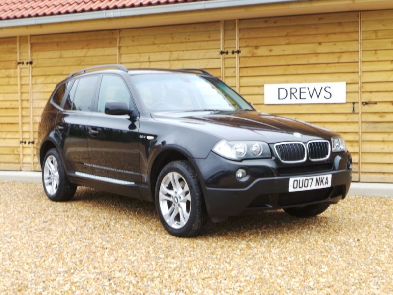 Used BMW X3 D SE Black Leather Lovely Condition in Berkshire