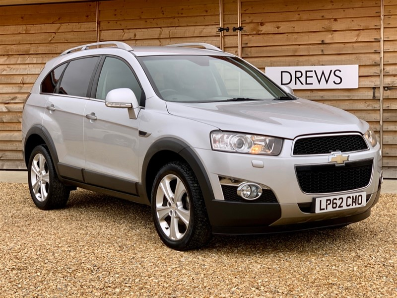 Used Chevrolet Captiva 2.2 VCDI LTZ automatic Sat Nav & Reverse Camera Leather & Tow Pack in Berkshire