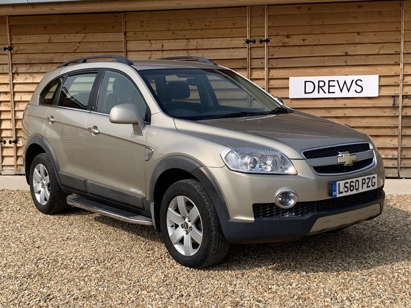 Used Chevrolet Captiva VCDI LT Low Mileage Half Leather Just Serviced New MOT in Berkshire