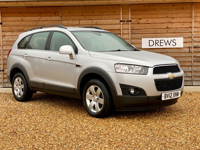 Used Chevrolet Captiva VCDI LT 2.2 Diesel One Owner 7 Seats And Low Mileage in Berkshire