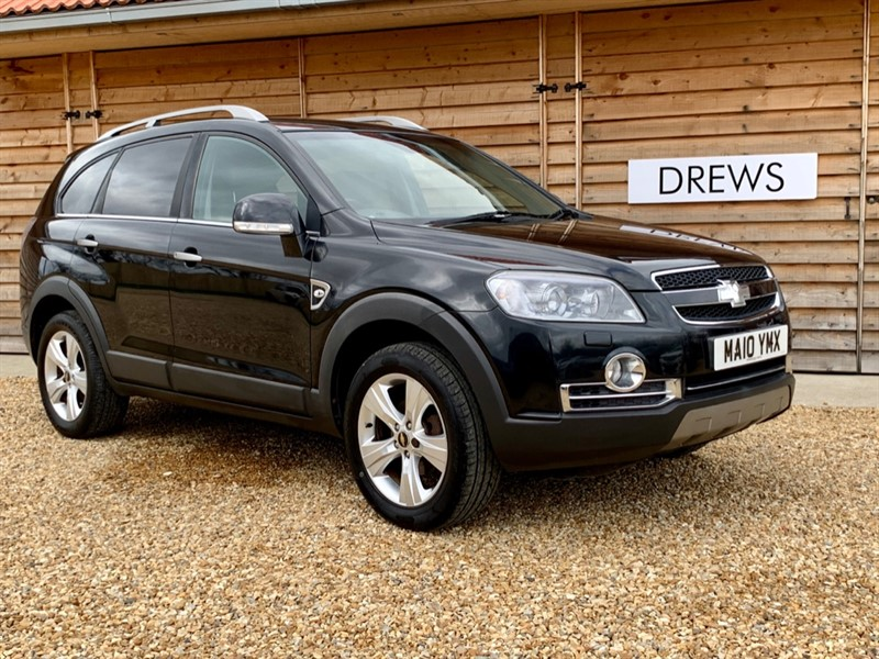 Used Chevrolet Captiva VCDI LTZ Sat Nav Heated Leather Seats Tow Bar in Berkshire