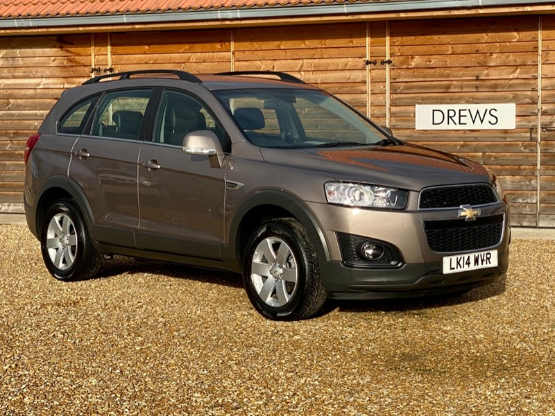 Used Chevrolet Captiva 2.2 VCDI LT Auto One Owner 7 Seats Just Serviced New MOT in Berkshire