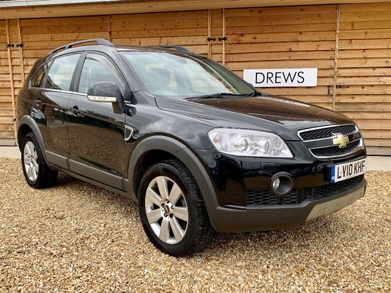 Used Chevrolet Captiva VCDI LTX Auto Due In Soon 7 Seats Rear DVD Player with Headphones in Berkshire