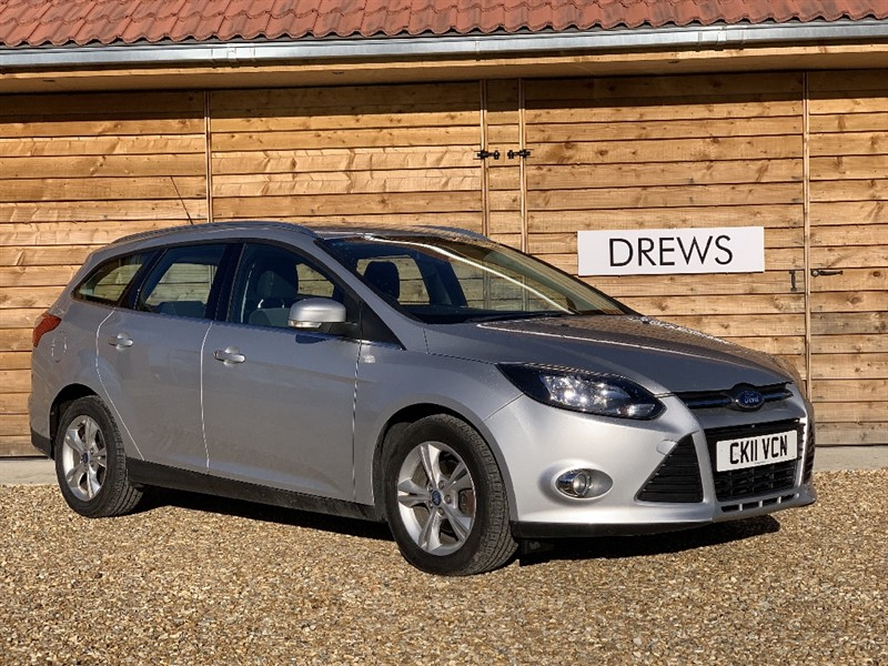 Used Ford Focus ZETEC TDCI Ford S/History Low Tax Low Mileage in Berkshire