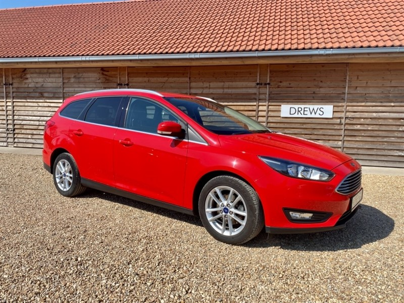 Used Ford Focus ZETEC TDCI Just Serviced Zero Tax in Berkshire