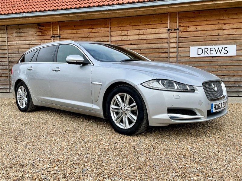 Used Jaguar XF 2.2D Luxury Sportbrake Automatic in Berkshire