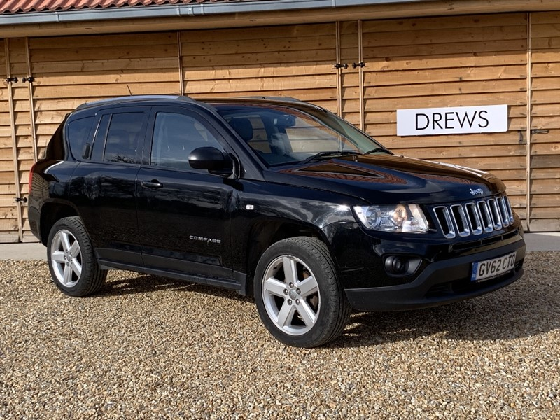 Used Jeep Compass CRD LIMITED 4WD Sat Nav Leather Cruise Bluetooth Total Spec in Berkshire