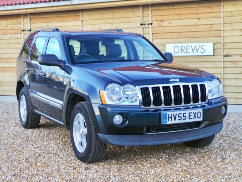 Used Jeep Grand Cherokee V6 CRD LIMITED One Owner Great Condition Just Serviced in Berkshire