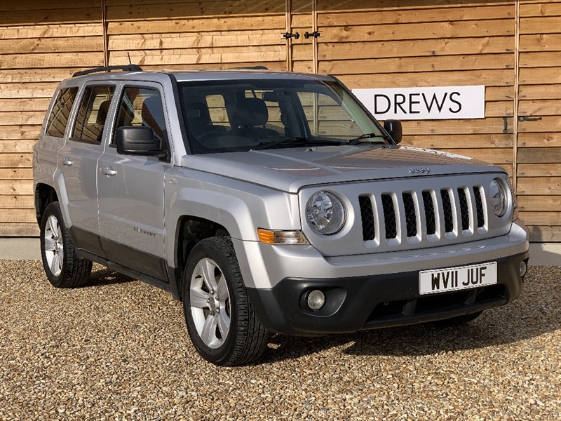 Used Jeep Patriot 2.2 CRD SPORT Bluetooth Cruise Control Parktronic in Berkshire