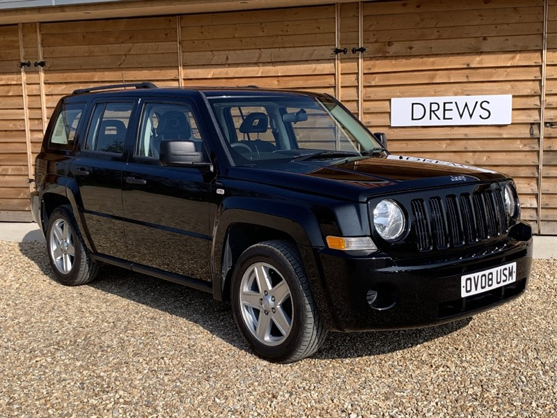 Used Jeep Patriot SPORT 2.0 CRD Full Service History in Berkshire