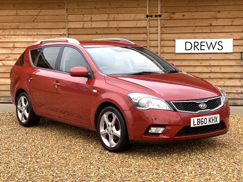 Used Kia Ceed CRDI 3 SW 1.6 Diesel Automatic FSH And Just Serviced in Berkshire