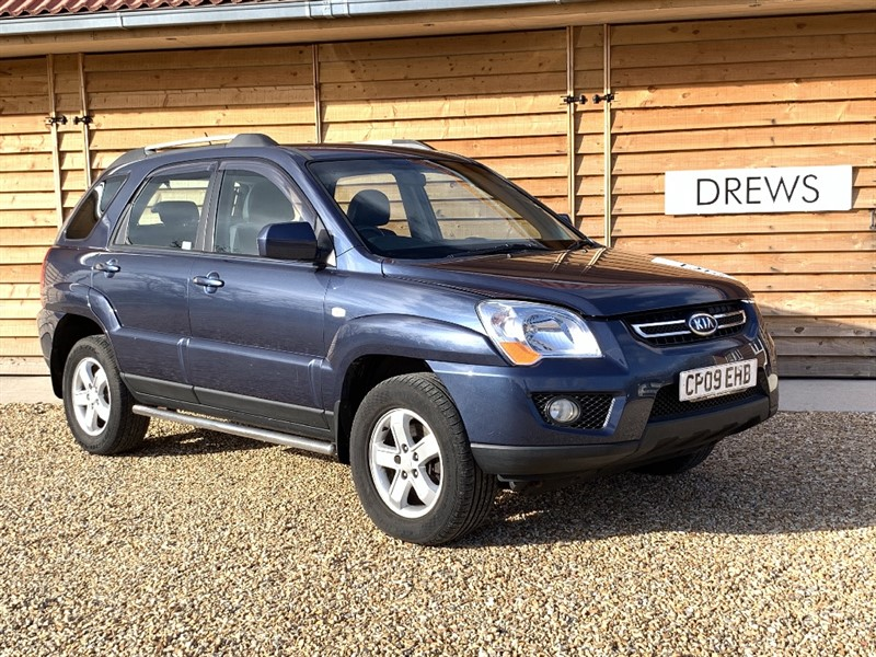 Used Kia Sportage CRDI XS Black Leather Cruise Control Fantastic Condition in Berkshire
