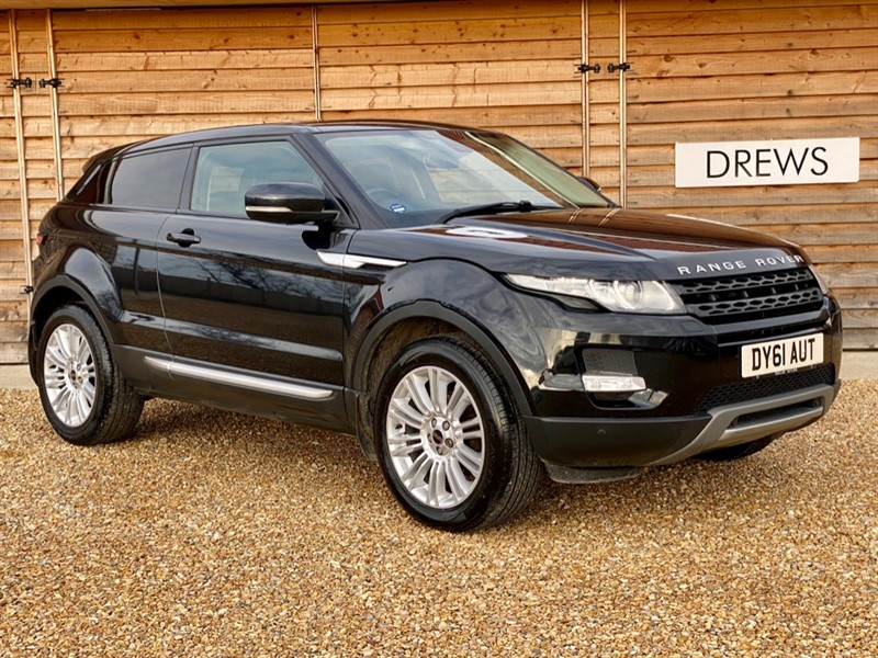 Used Land Rover Range Rover Evoque SD4 PRESTIGE 2.2d 190BHP Heated Leather Seats Lovely Condition in Berkshire