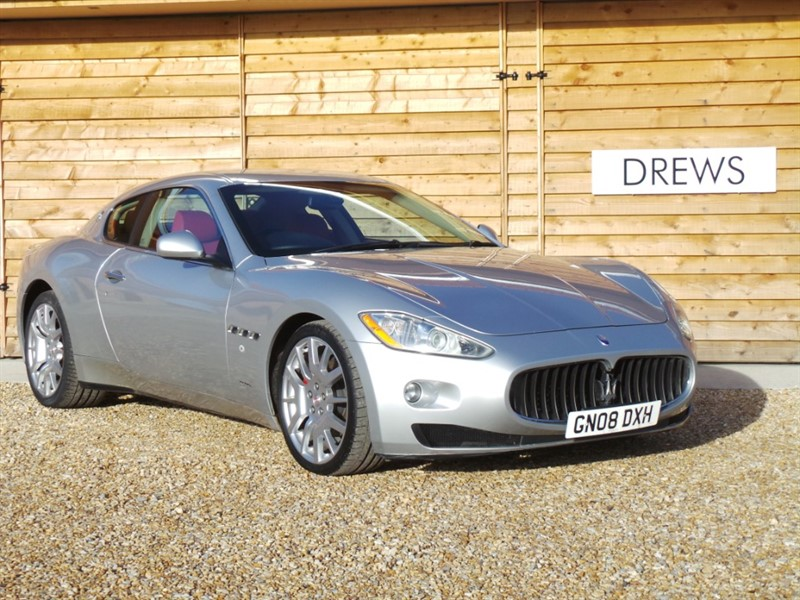 Used Maserati Granturismo V8 4.2 Auto With Paddle Shift Rosso Leather Just Serviced in Berkshire
