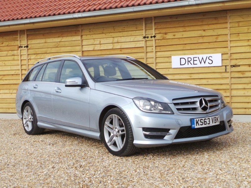 Used Mercedes C220 CDI Full MB S/History AMG SPORT in Berkshire