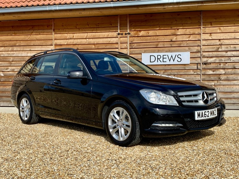 Used Mercedes C220 220 CDI EXECUTIVE SE Estate Auto Leather trim Just Serviced in Berkshire