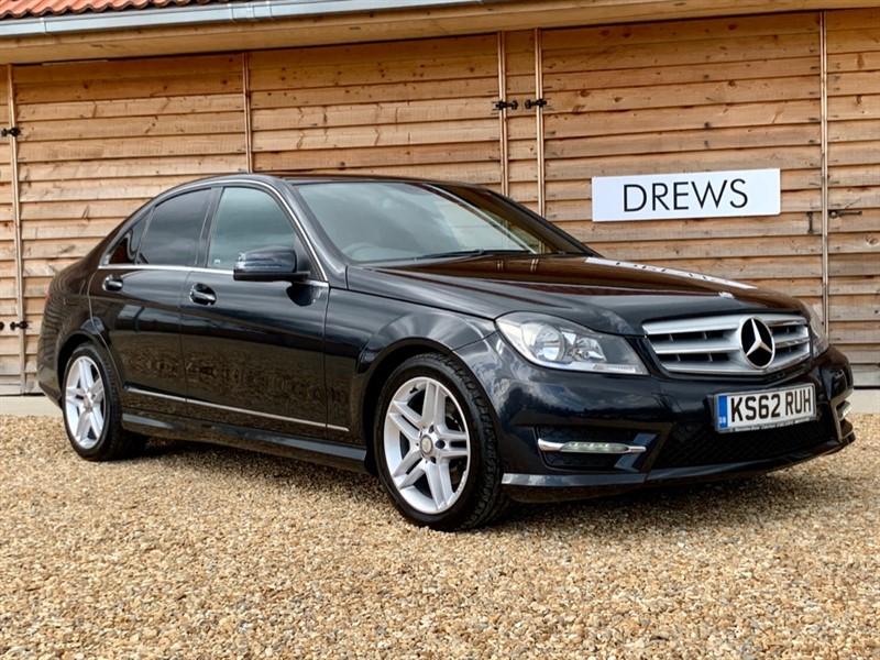 Used Mercedes C250 CDI BE AMG SPORT Sat Nav Leather in Berkshire