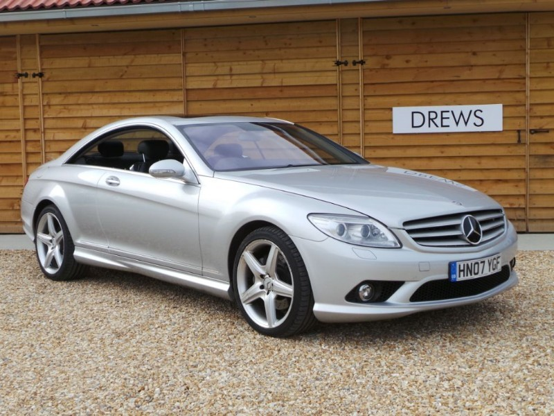 Used Mercedes CL500 CL 500 5.5 AMG Cost £90 850 When New Great Spec in Berkshire