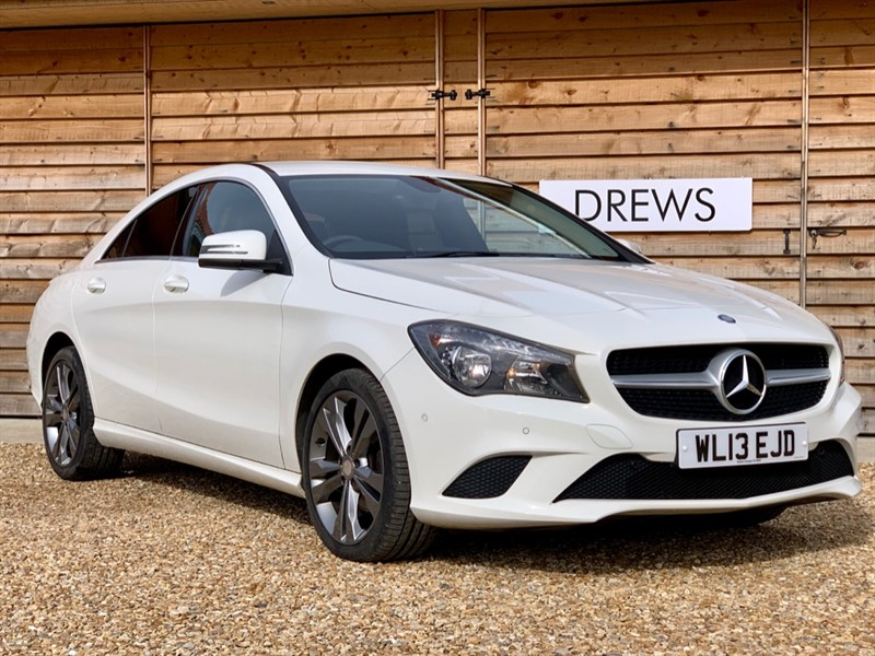 Used Mercedes CLA 220 CDI AMG SPORT One Owner Sat Nav LOW Mileage FSH in Berkshire