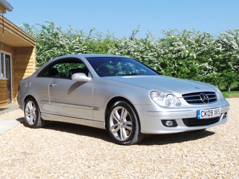 Used Mercedes CLK320 CDI CDI AVANTGARDE 8 Main Dealer Services in Berkshire