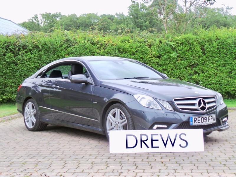 Used Mercedes E350 CDI Bluefficiency AMG Sport Full Mercedes S/History Due In Soon in Berkshire