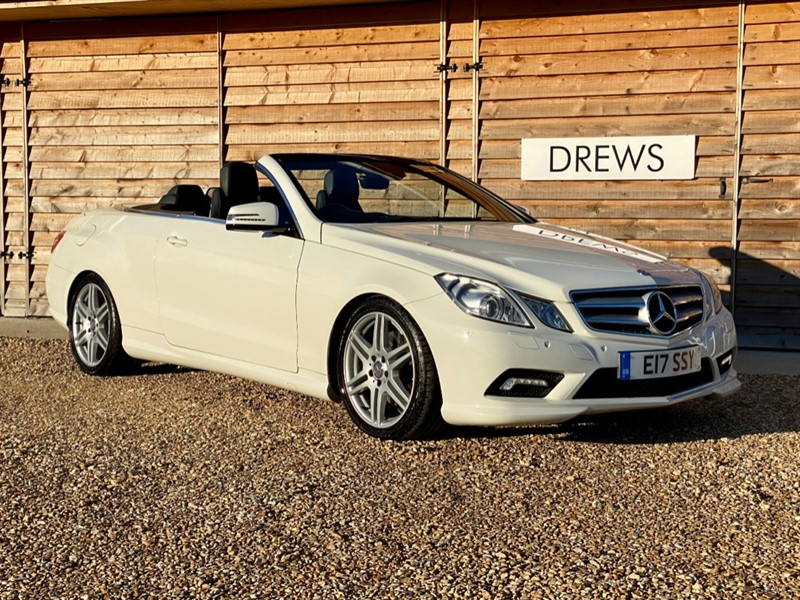 Used Mercedes E220 CDI AMG SPORT Convertible Auto Great Spec Lovely Condition in Berkshire