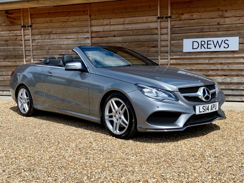 Used Mercedes E220 2.2 CDI AMG SPORT Convertible Automatic FMBSH in Berkshire