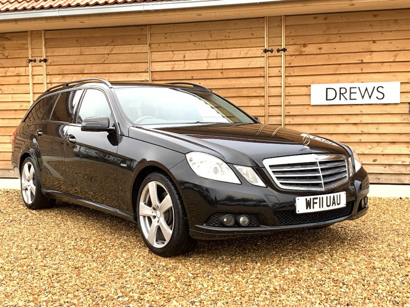 Used Mercedes E220 CDI SE Auto Estate With Exceptional Condition in Berkshire