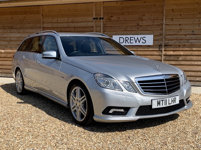 Used Mercedes E220 CDI BLUEEFFICIENCY SPORT Just Serviced and New MOT in Berkshire