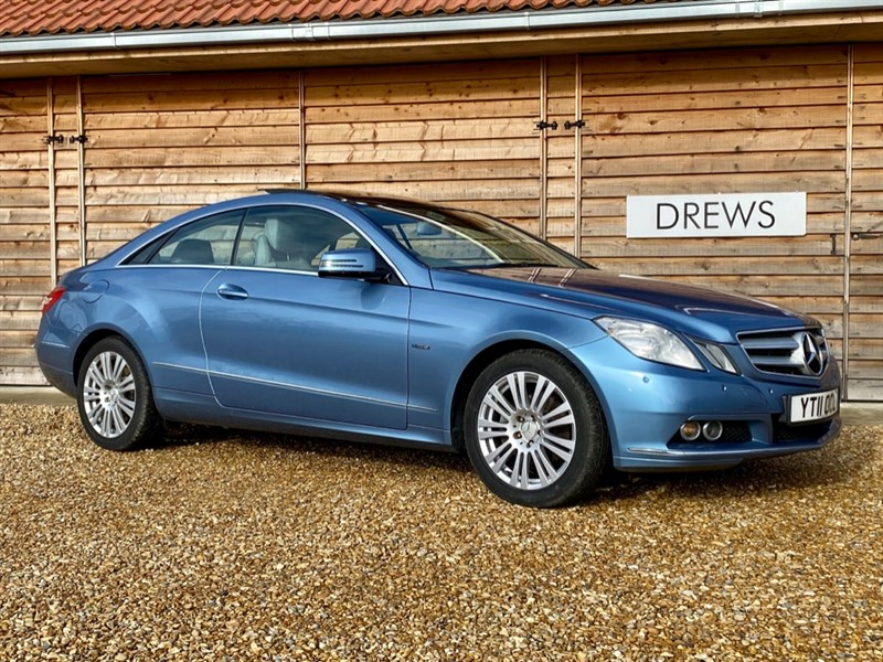 Used Mercedes E250 1.8 CGI Petrol SE Auto Coupe Panoramic Roof in Berkshire
