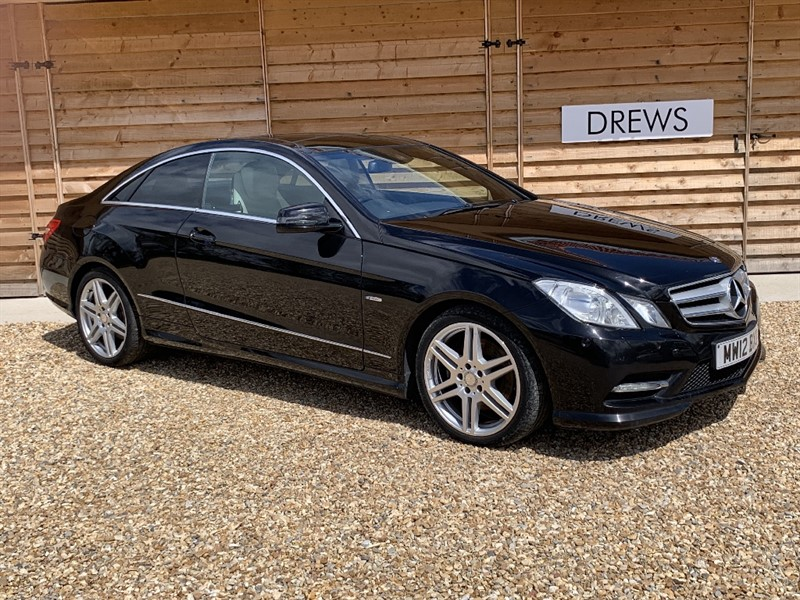 Used Mercedes E250 CDI BLUEEFFICIENCY S/S SPORT Panoramic Sunroof Main Dealer Service History in Berkshire