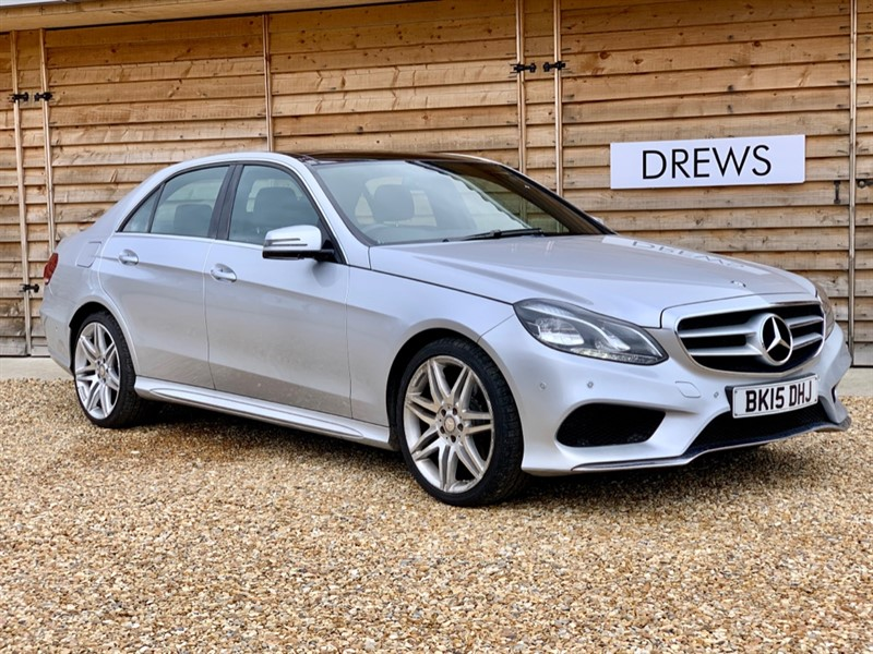 Used Mercedes E250 CDI 250 AMG SPORT Panoramic Sunroof FMBSH in Berkshire