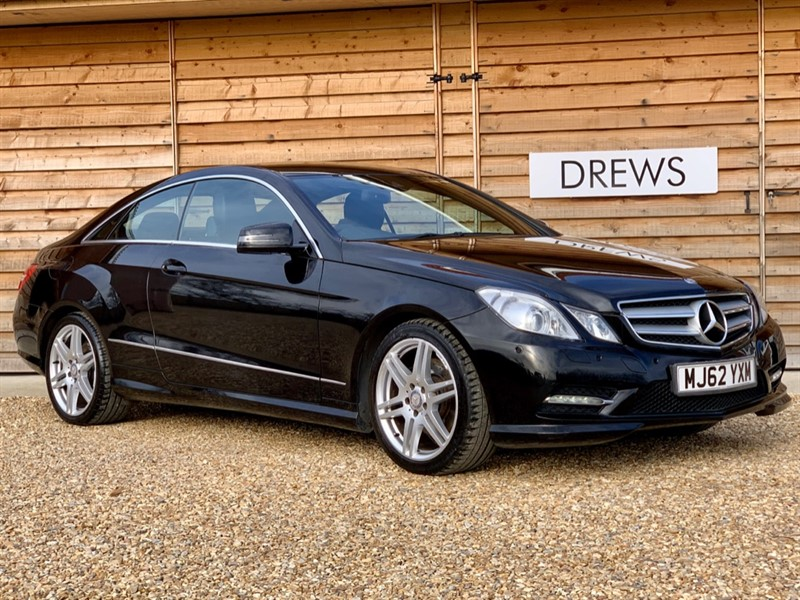 Used Mercedes E350 CDI AMG SPORT Sat Nav Leather F&R Parking + Orthopaedic Seats in Berkshire
