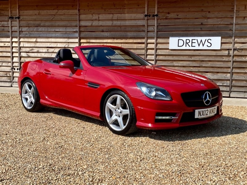 Used Mercedes SLK200 SLK200 1.8 Petrol AMG Sport Automatic Sat Nav Heated Leather Seats in Berkshire