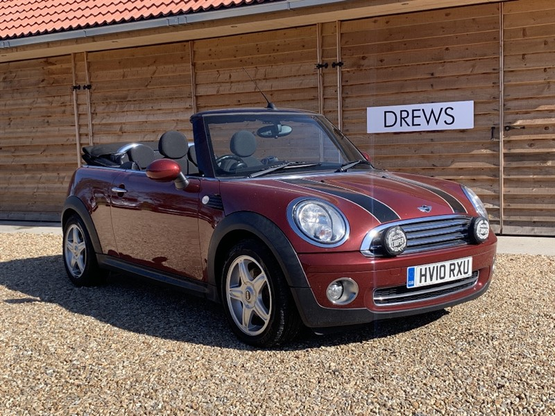 Used MINI Convertible COOPER One Owner Air Con Half Leather 3k Factory Options in Berkshire