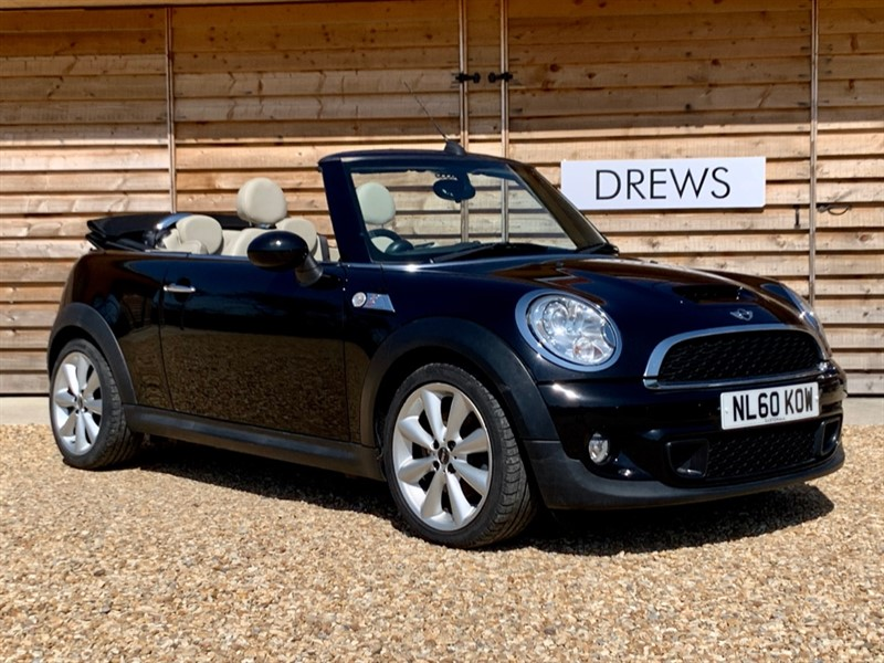 Used MINI Cooper S Convertible 184 Leather Seats Factory Bluetooth Just Serviced in Berkshire