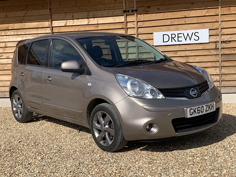 Used Nissan Note N-TEC Sat Nav Automatic in Berkshire