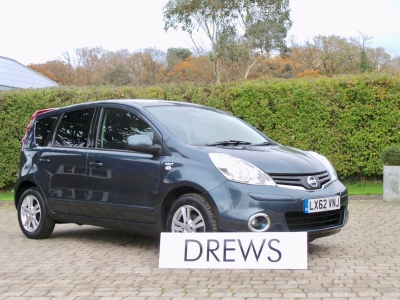 Used Nissan Note N-TEC PLUS Automatic Sat Nav Half Leather Just Serviced in Berkshire