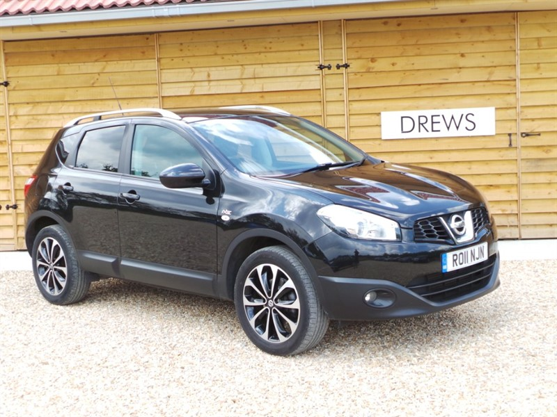 Used Nissan Qashqai N-TEC DCI Sat Nav Leather Panoramic SR Bluetooth in Berkshire