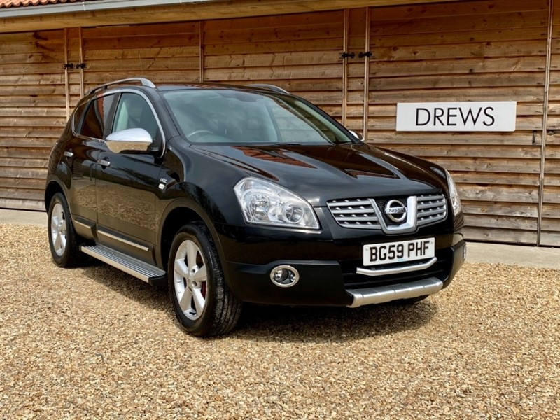 Used Nissan Qashqai N-TEC 1.6 Petrol Just Serviced New MOT Panoramic Sunroof Sat Nav Reverse Camera in Berkshire