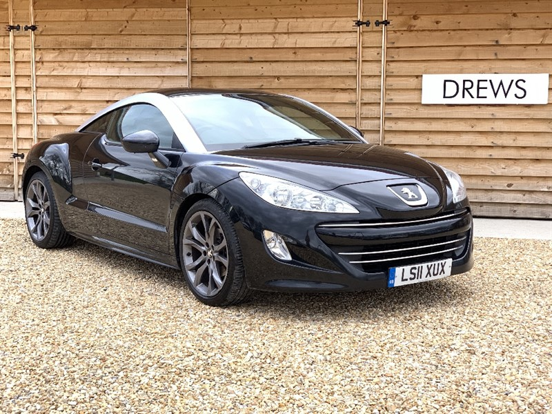Used Peugeot RCZ THP GT 200 BHP Black Leather Heated Seats in Berkshire
